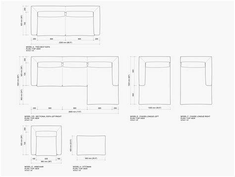 sofa dwg jonas sofa collection 2017 jonas wagell design