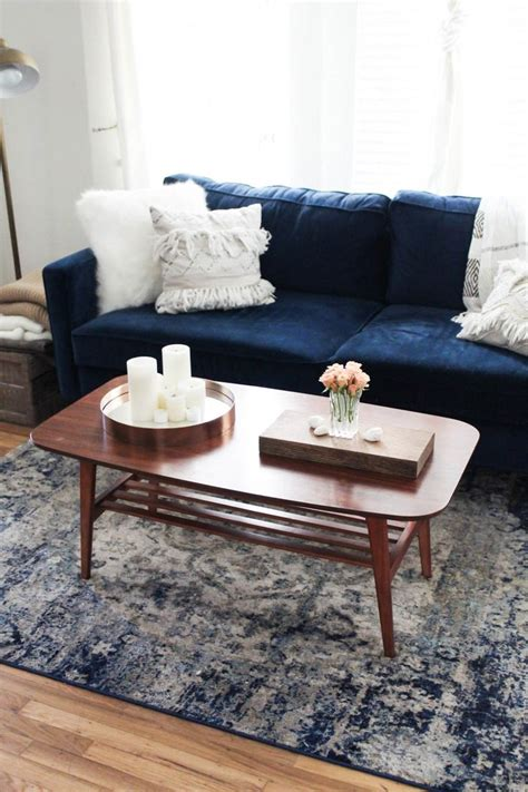 coffee table accents 17 best ideas about navy couch on pinterest navy blue