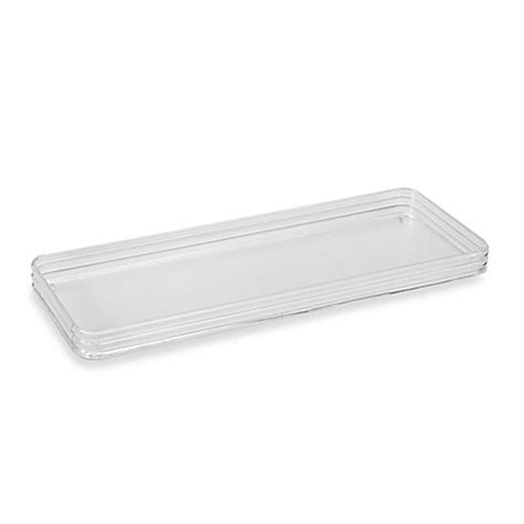acrylic bed tray clear acrylic toilet tank tray bed bath beyond