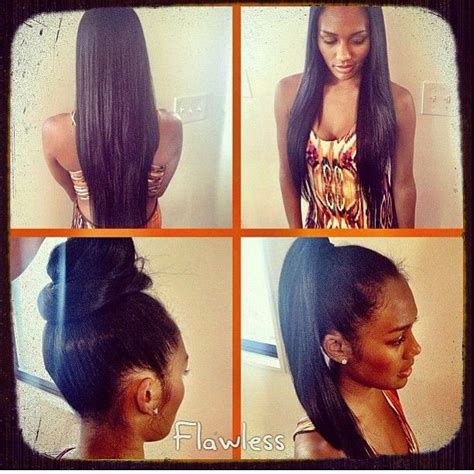 best sew in for natural versale hairstyle 91 best images about straight hair styles on pinterest