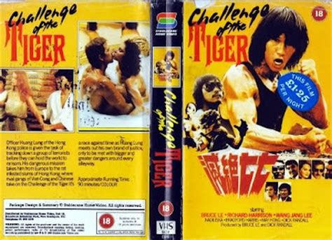challenge of the tiger cinema arcana the vhs archives bruce le s gymkata killer