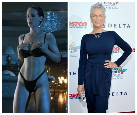 jamie lee curtis now jamie lee curtis cast of true lies then and now