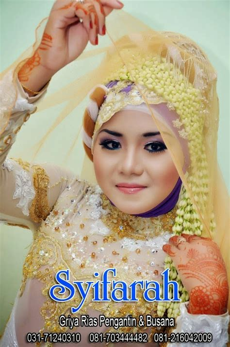Make Up Pengantin Surabaya syifarah rias pengantin tradisional muslim surabaya ragam make up pengantin di akad nikah surabaya