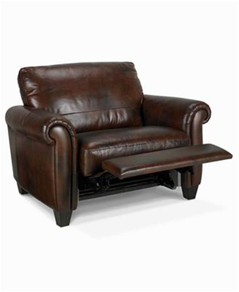 extra large recliners andrew recliner extra wide snuggler furniture macy s