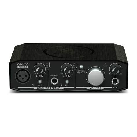 Daftar Audio Interface Usb mackie onyx artist 1 2 usb audio interface ebay
