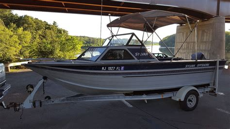 sylvan boats aluminum sylvan marine offshore 1989 for sale for 4 800 boats