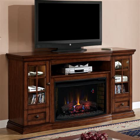 Living Room Bookcases White Corner Electric Fireplace Entertainment Center