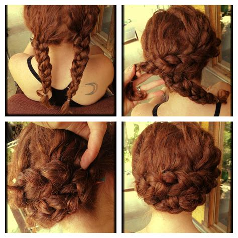 easy diy hairstyles for long curly hair crochet braid updo hairstyle for medium long hair