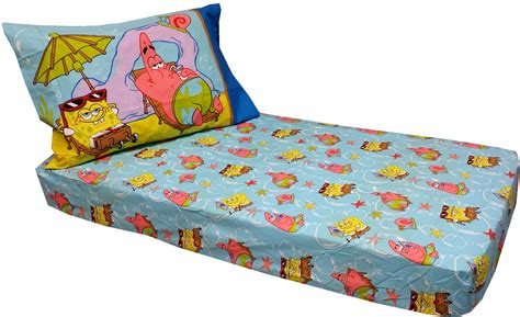 spongebob toddler bedding set spongebob toddler bed sheet set crib or toddler bedding