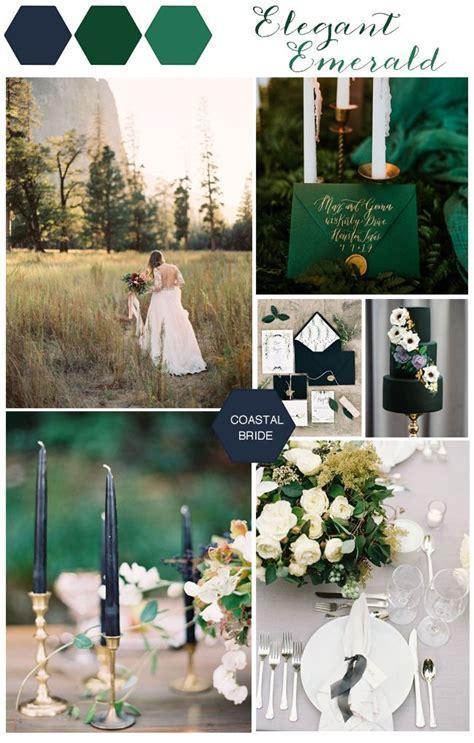 Elegant Emerald Fall Wedding Inspiration   CREATIVE