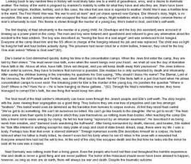 By Elie Wiesel Essay Topics by elie wiesel essay prompts essay