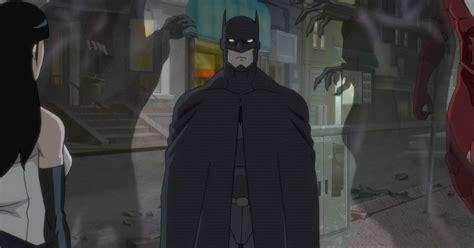 new justice league dark clip features batman and justice league dark quot batman vs shrouds quot clip cosmic