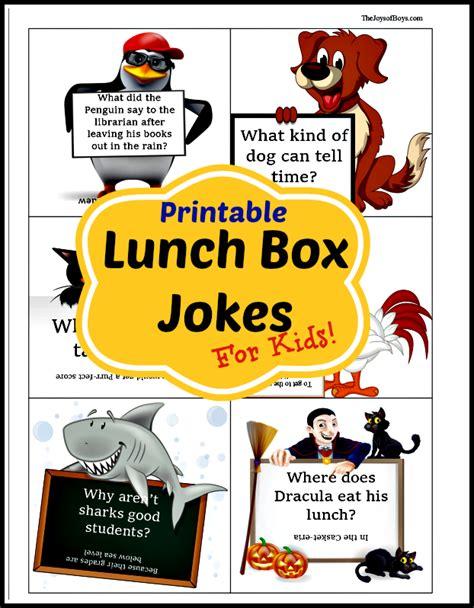 printable children s jokes printable lunch box jokes