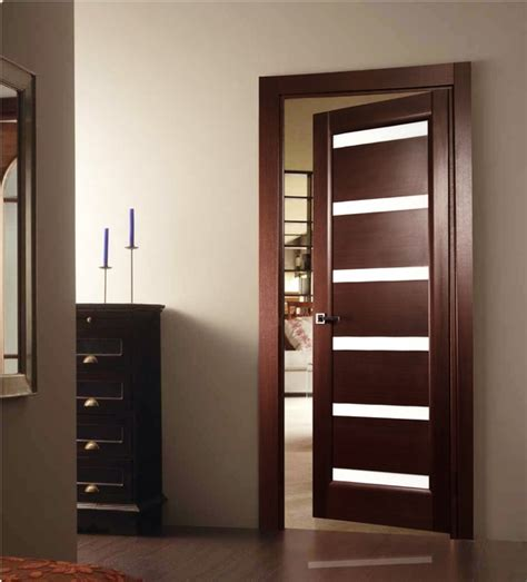 modern house door quot tokio quot wenge interior door with glass doors