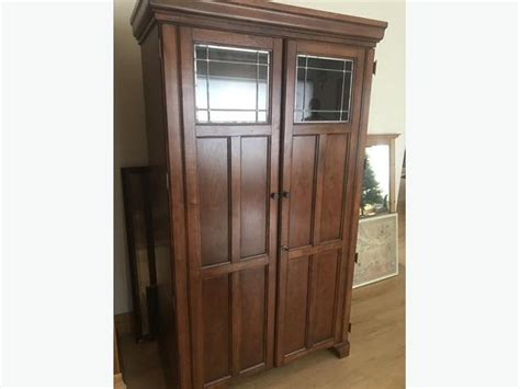 solid wood armoire desk solid wood armoire desk with leaded glass victoria city
