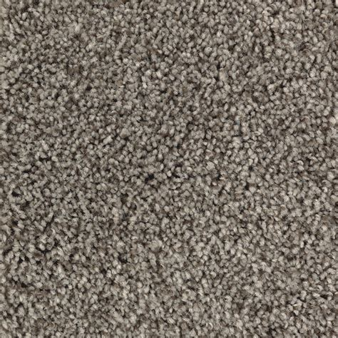 shop mohawk essentials tonal look taupe textured interior carpet at lowes