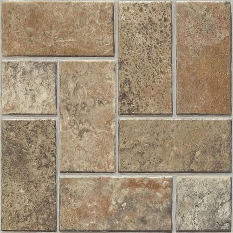 armstrong ashford series self stick vinyl tile 12 quot x 12 quot at menards 34 flooring pinterest