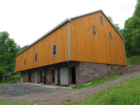 Bank Barn bank barn restoration in mohnton pa farmhouse exterior by king construction company llc