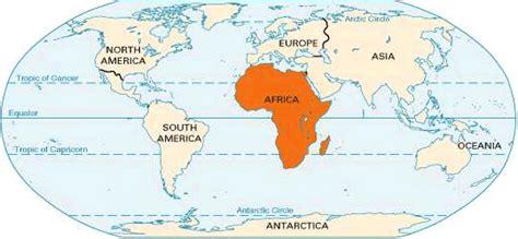 africa map location africa location students britannica homework help