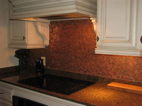 penny kitchen backsplash penny backsplash home decor pinterest