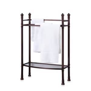 bath towel stands buy towel stands from bed bath beyond