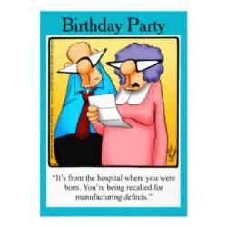 funny 50th birthday invitations amp announcements zazzle
