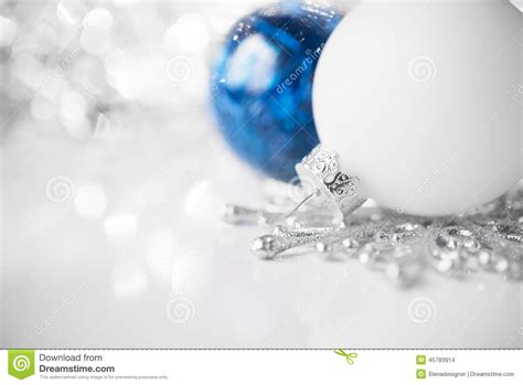 white blue ornaments blue and white ornaments on bright background