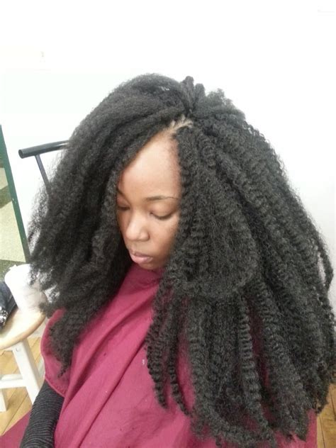 pictures of crochet with marley hair marley hair crochet braids before curling yelp
