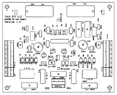 diagram of 100w power lifier engine diagram and wiring