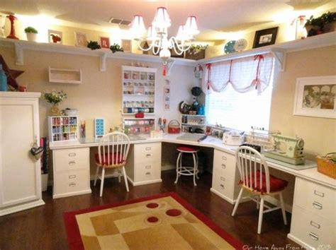 pin by nancy cook on craft room ideas - Craft Room Setup