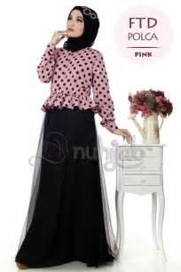 Nuhijab Floria Tutu Dress Ftd Pink belanja jilbab dan gamis syar i