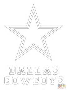 dallas cowboy coloring pages dallas cowboys logo coloring page free printable