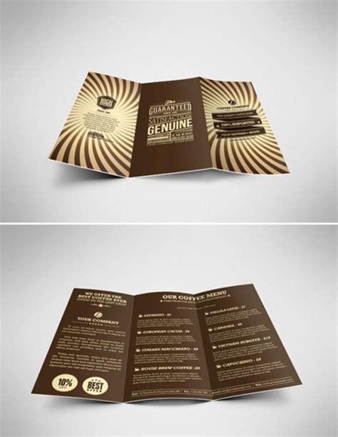 desain brosur retro 22 brosur kafe kopi pilihan desain bagus ayuprint co id