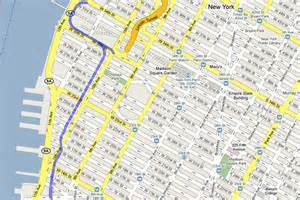 Highline New York Map by New York City S High Line Walk Business Insider
