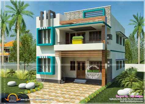 Duplex Floor Plans India by South Indian Contemporary Home Kerala Home Design And