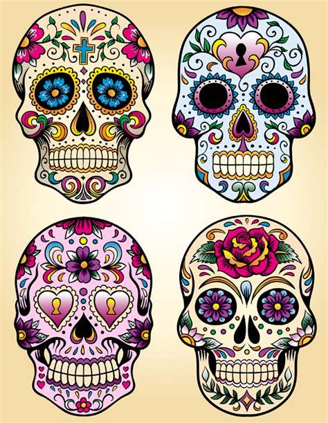 dia de los muertos skull template skulls the juice