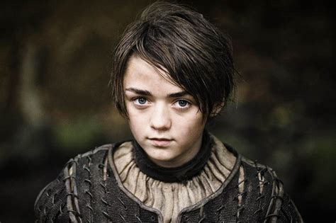 Of Thrones Ukuran L maisie williams arya stark foto gambar