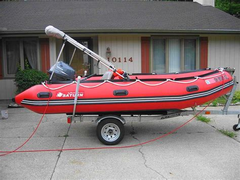 zodiac tow boat 14 saturn dinghy tender sd 430