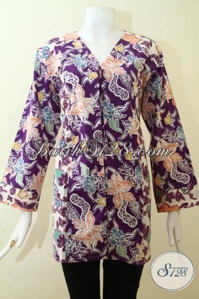 Ds96 Blouse Flower Atasan Wanita Realpic Katun Tebal Premium blus batik ukuran collar blouses