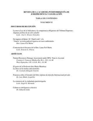 volumen i academia puertorrique a de jurisprudencia y volumen i academia puertorrique a de jurisprudencia y