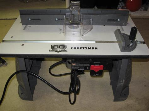 Craftsman Router Table Combo by Review Starter Table By Kshipp Lumberjocks
