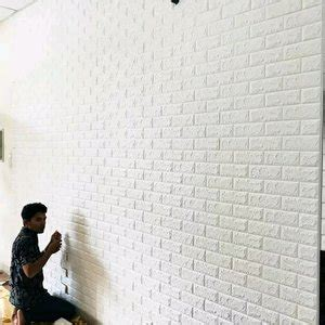 jual  grosir wallpaper dinding batu bata wallpaper