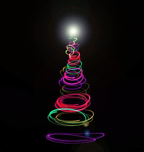colourful abstract christmas tree 8251 stockarch free