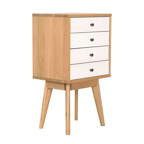 target furniture duvall 4 drawer tower white coffee side tables target