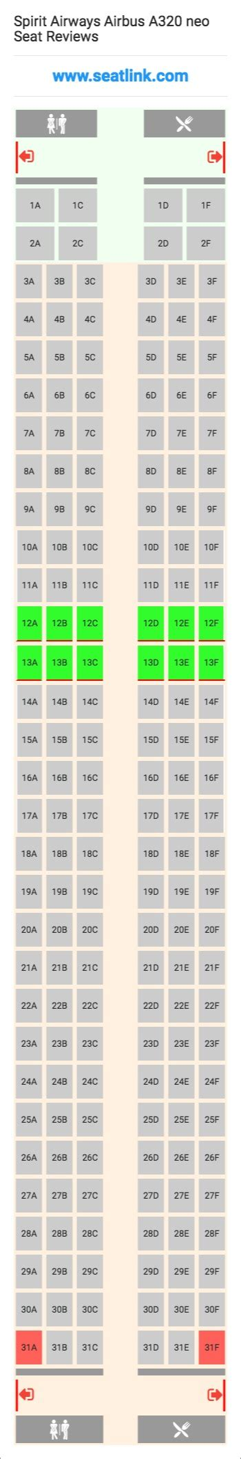 airbus a321 cabin layout spirit airways airbus a320 neo 320 seat map airline