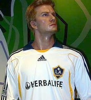 Another Bad Beckham Wax Figure by Archives The