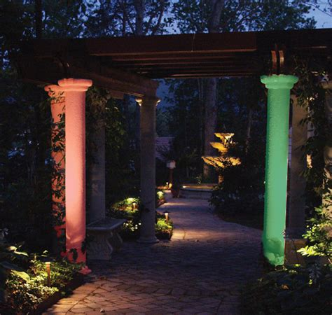 colored lenses for outdoor lights clearwater and ta bay outdoor lighting enlivened for