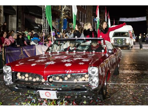 west chester s old fashioned christmas parade seen by