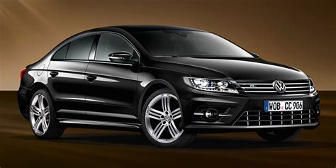 special edition dynamic black edition volkswagen cc launches  germany