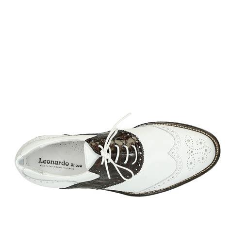Handmade Italian Sandals - handmade italian golf shoes in genuine calf leather